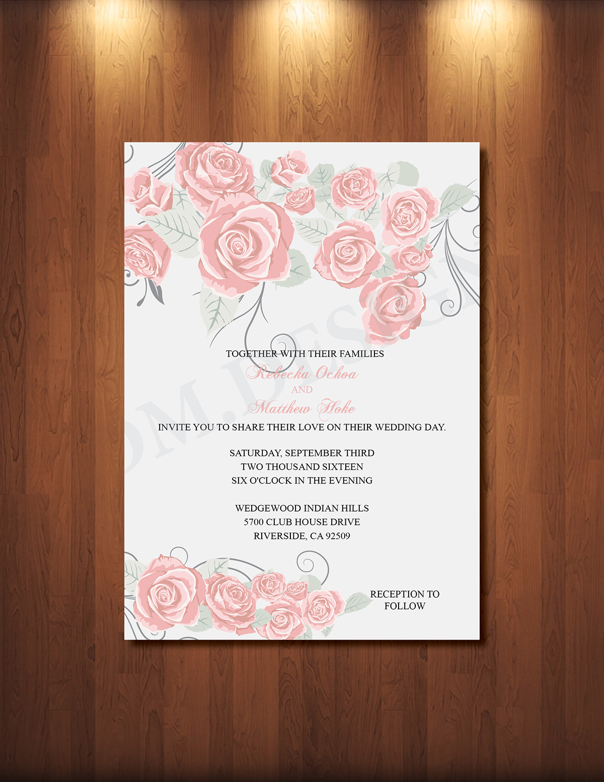 Wedding Invitations and Save the Dates on Behance