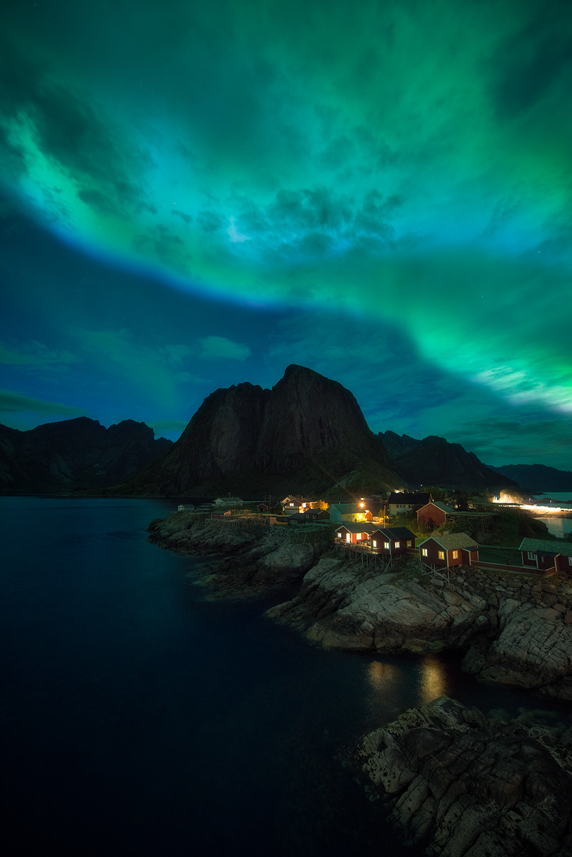 night photography Aurora Borealis Arctic norway iceland lofoten Astro landscape photography Nature outdoors