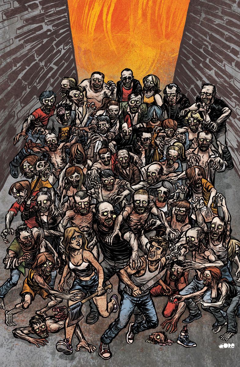 cover magazine zombies