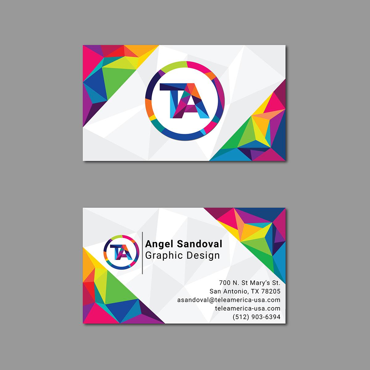 Teleamerica business card design on behance magicingreecefo Images