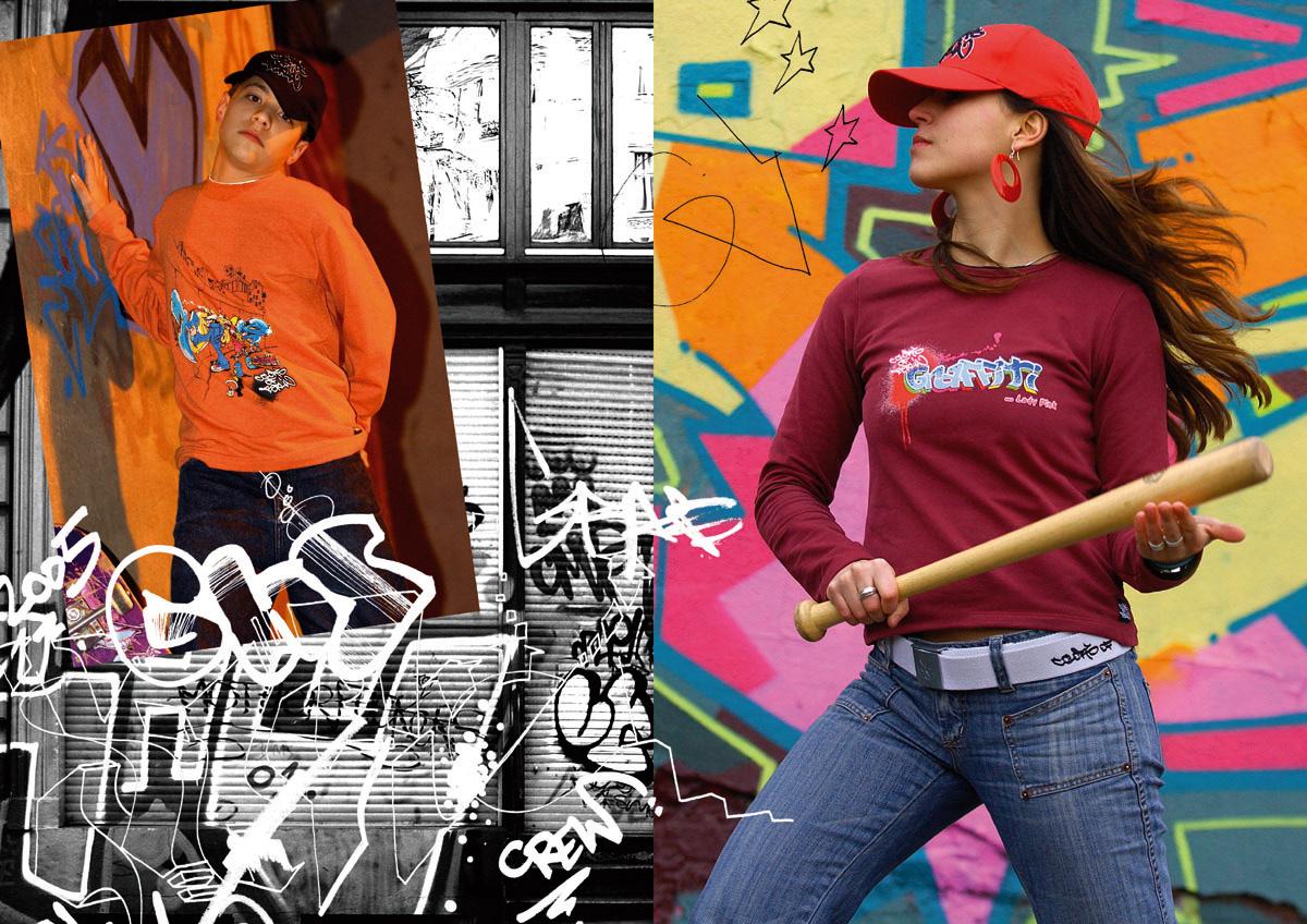 kids fashion Mode design Graffiti art