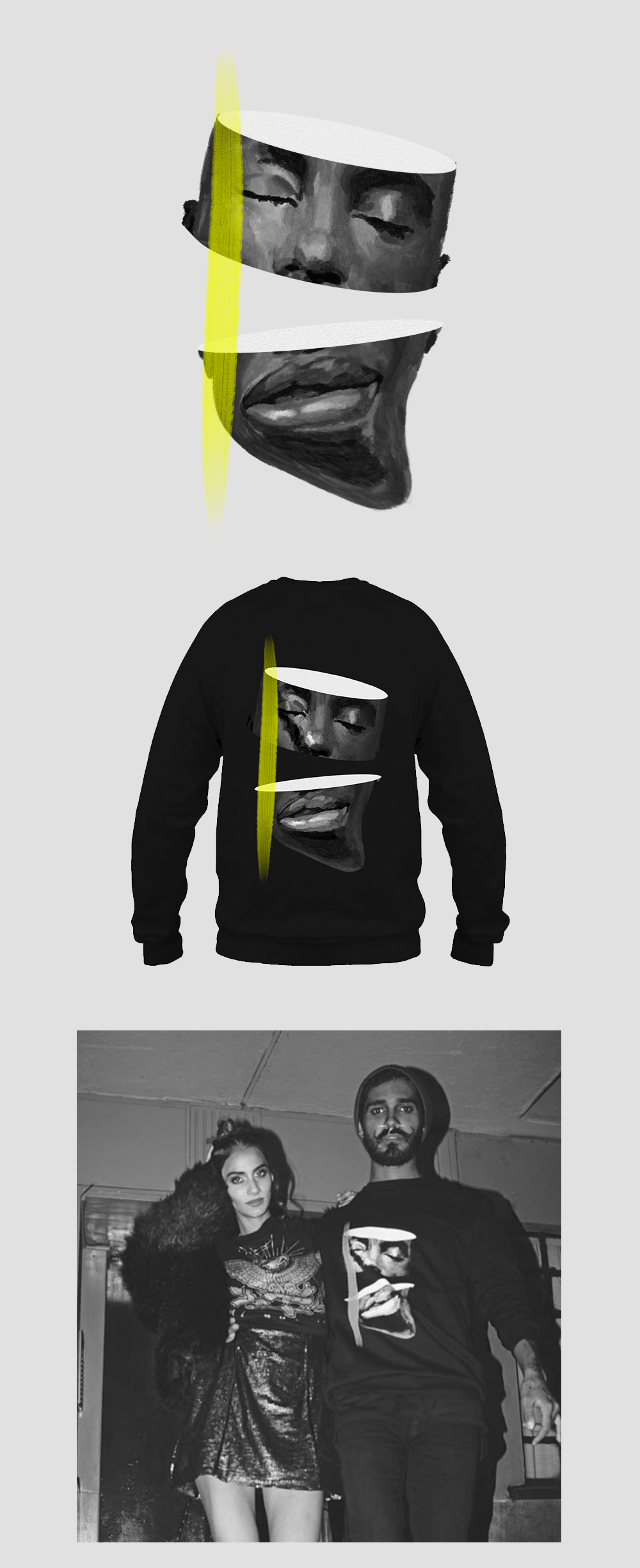black artist brand Clothing Fashion  ILLUSTRATION