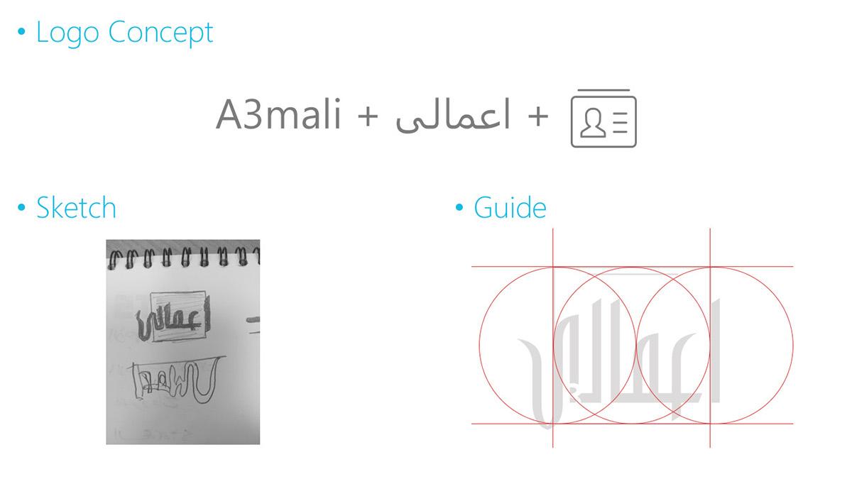 app Mobile Application ux UI Ahmed Faris أحمد فارس design