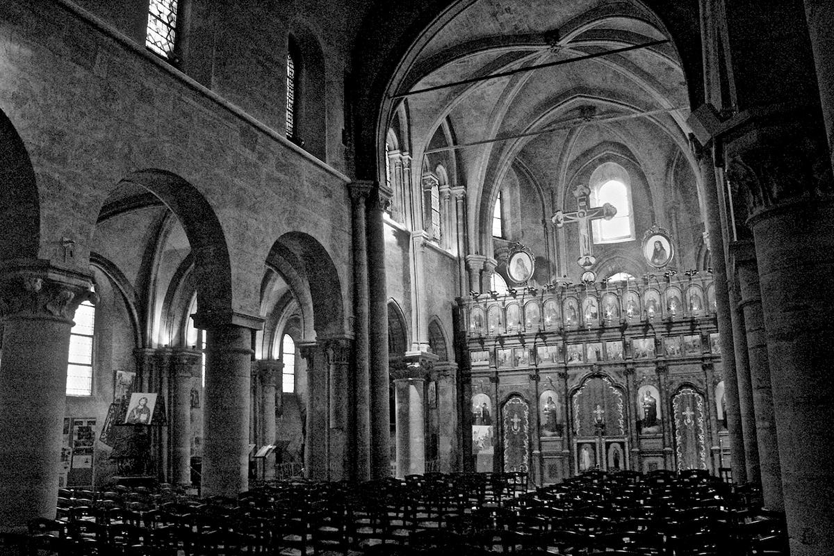 Paris Saint-Julien le Pauvre Saint-Séverin Saint-Germain de Prés Saint-Merry SAINT-GERMAIN L'AUXERROIS churches architecture