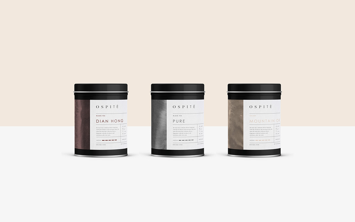 tea organic Health branding  Packaging Web chinese Italy thesis student