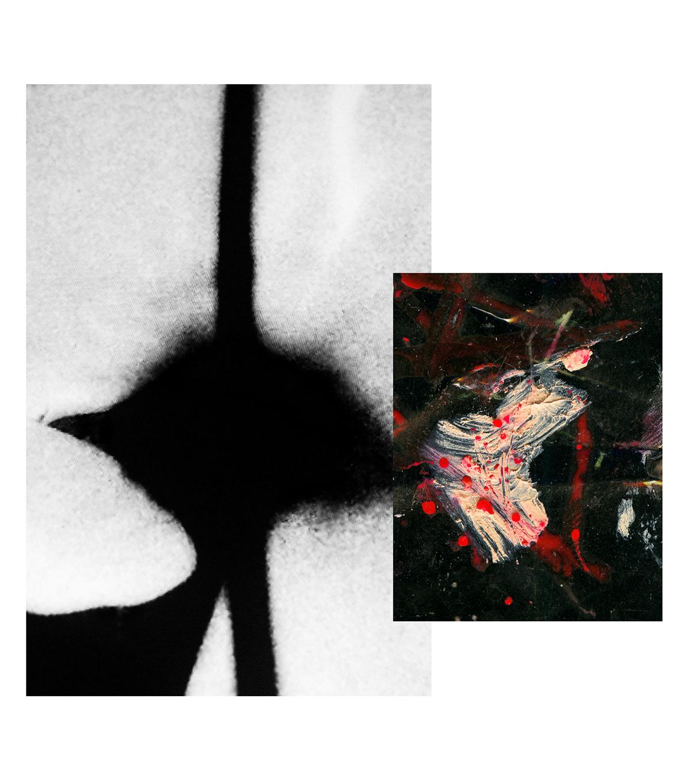 abstract analog avantgard experimental monitor paint Photography