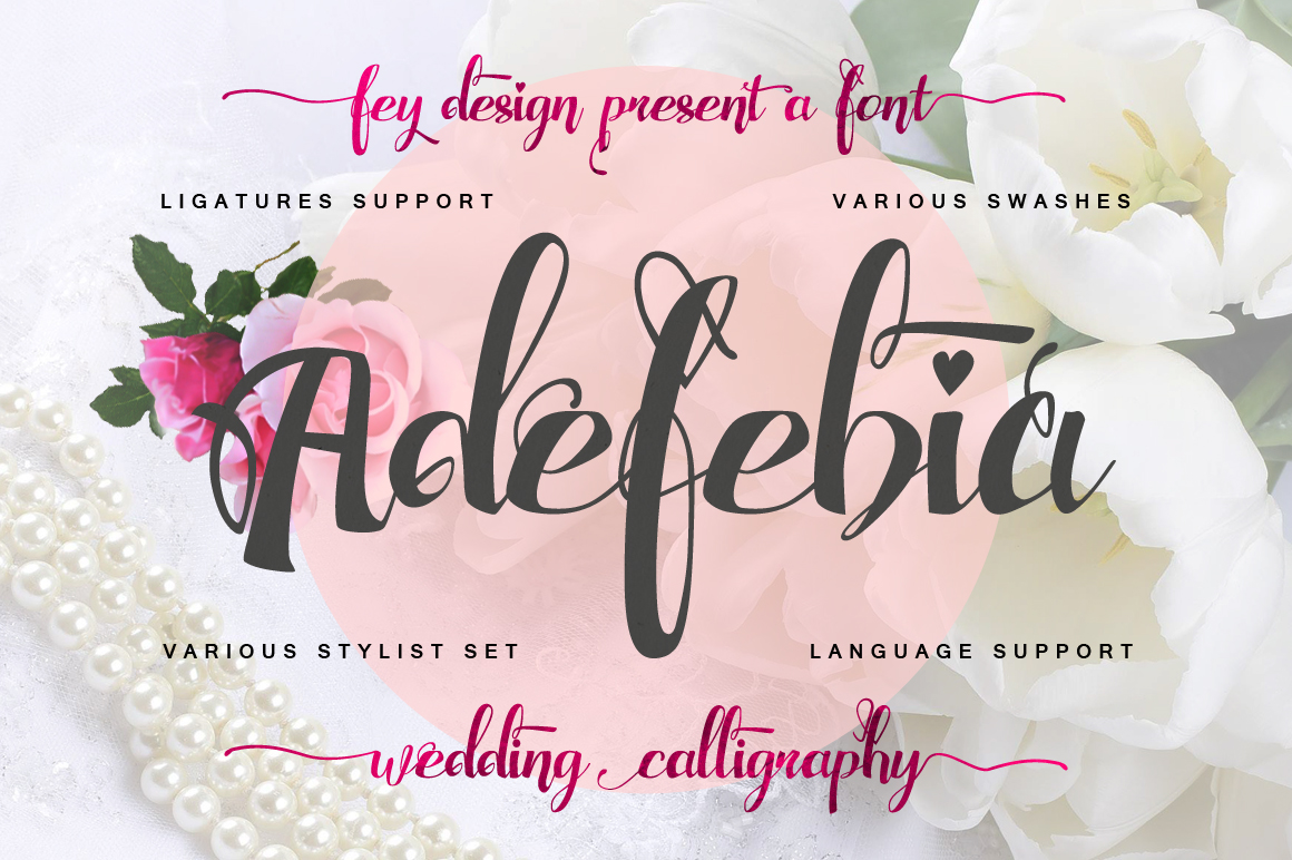 Adefebia Free Font On Behance