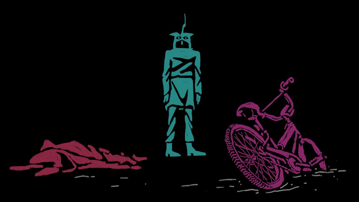 Cartooning  protest animation  Character design  keyframes Digital Art  illustrations Noise Pollution motion sketchbook