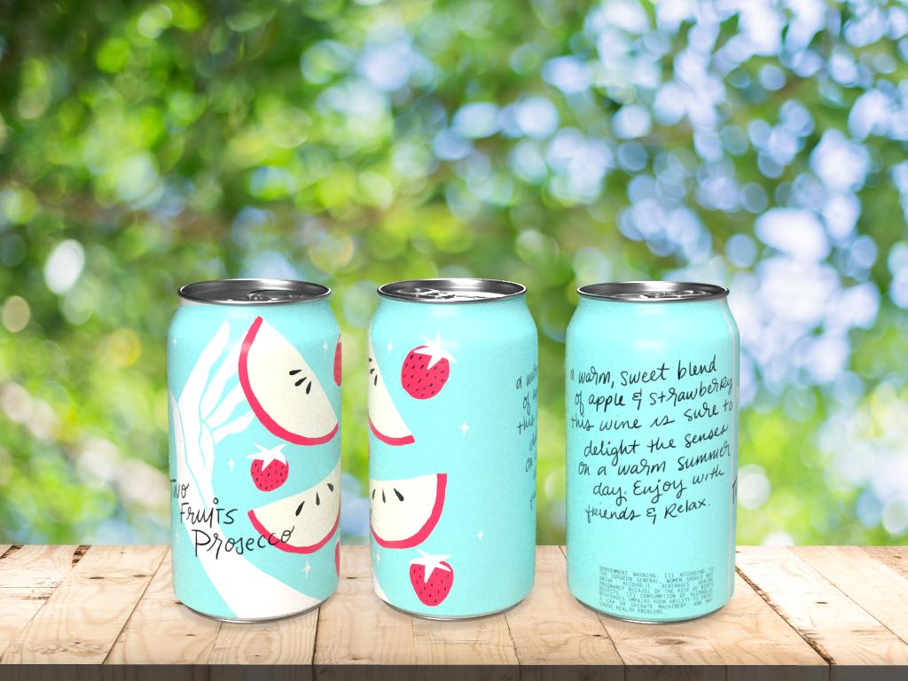 HAND LETTERING lettering Mockup branding  wine Wine Can dimension ILLUSTRATION