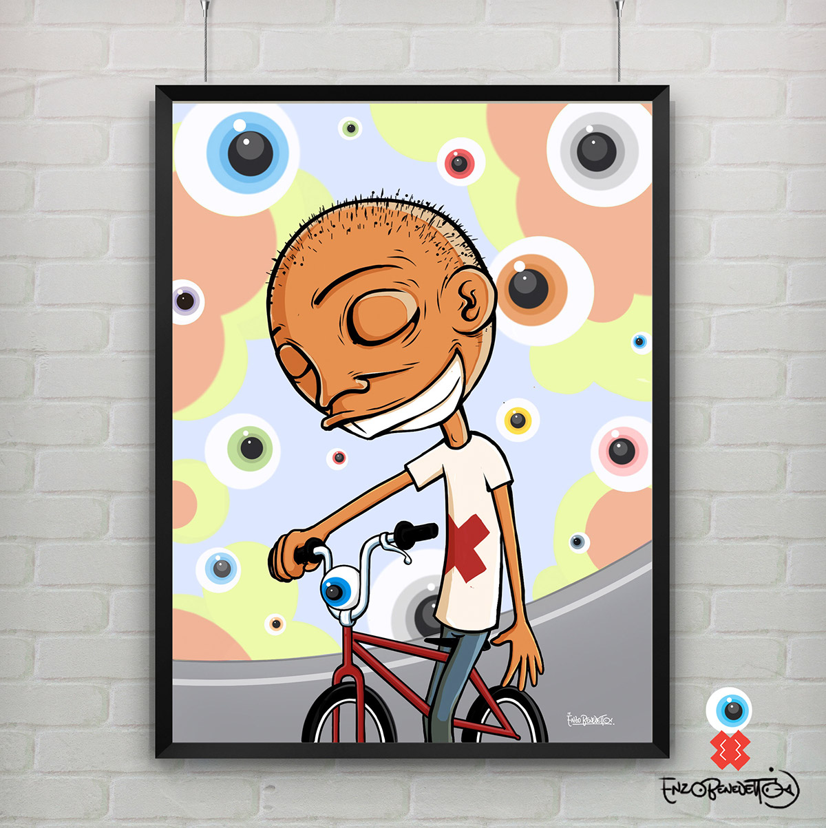 cycle,boy,guy,head,marzocchi,bmx,Enzo Benedetto,kona,Bike,PUSSY BIKE