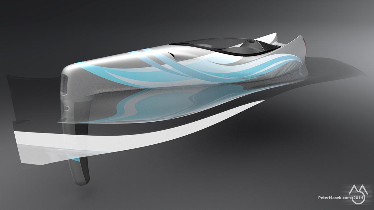 peter mašek boat speed Speedboat concept
