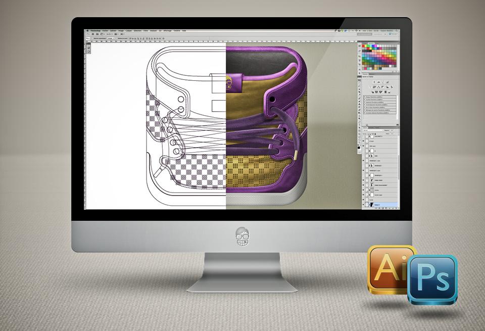 ios,Icon,Web,apple,Icones,sneaker,gang,tape,sneakers