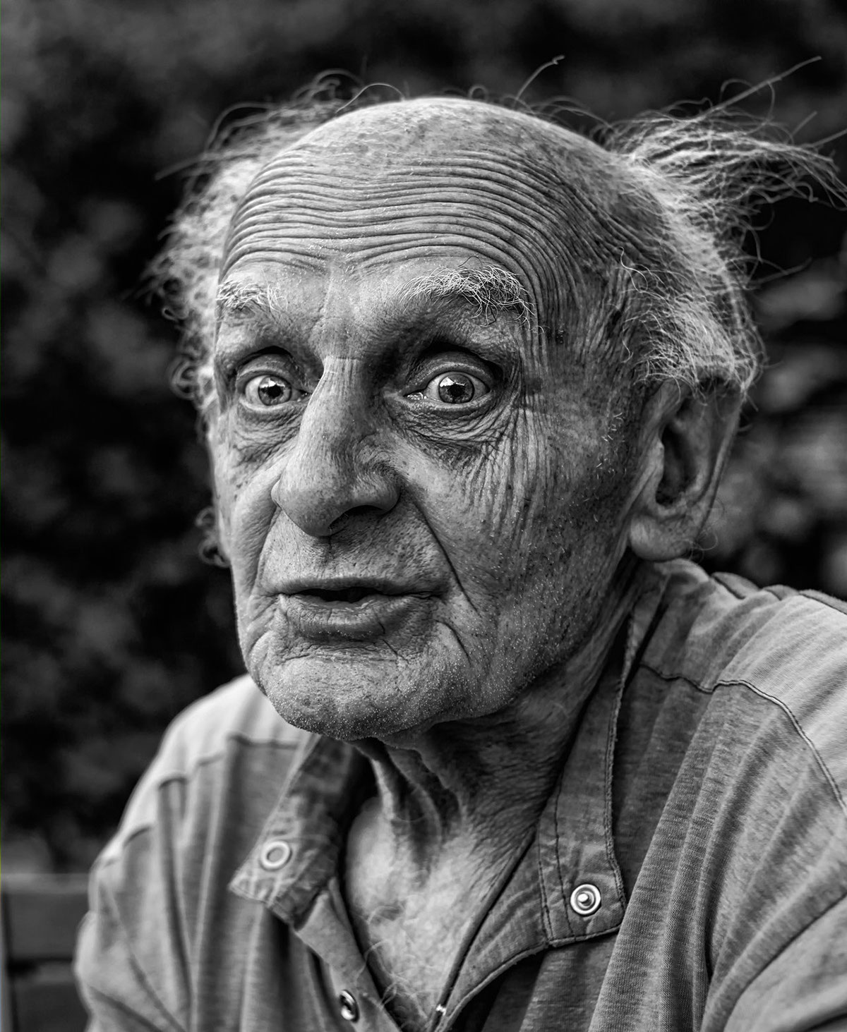 Old man portrait on behance