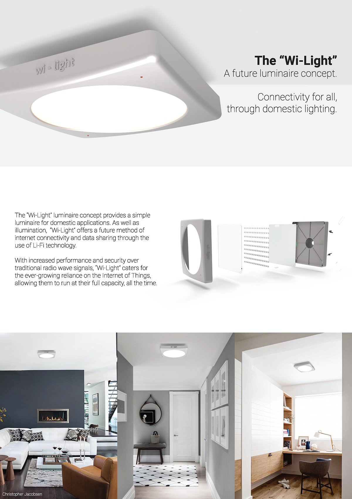 2017 IES Student Luminaire Competition on Behance
