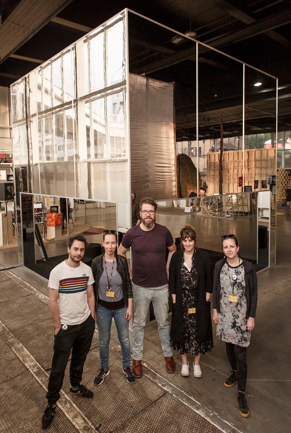 installation design pq2019 prague quadrennial Exhibition Design  hungarian designer infinite dune Hungarian design PQ