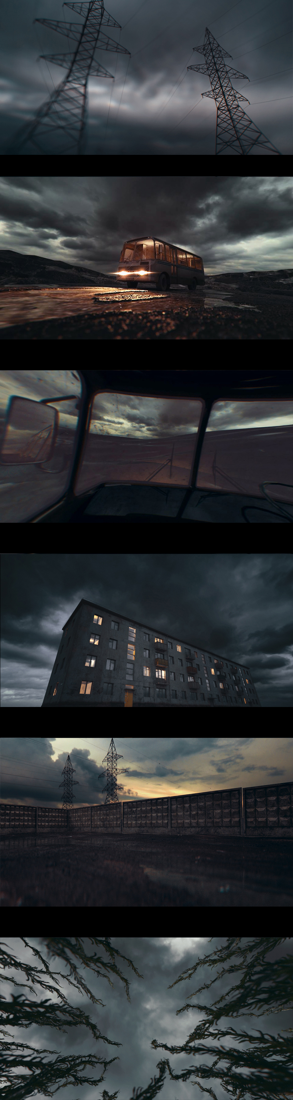 lombo Soviet dark noir dramatic