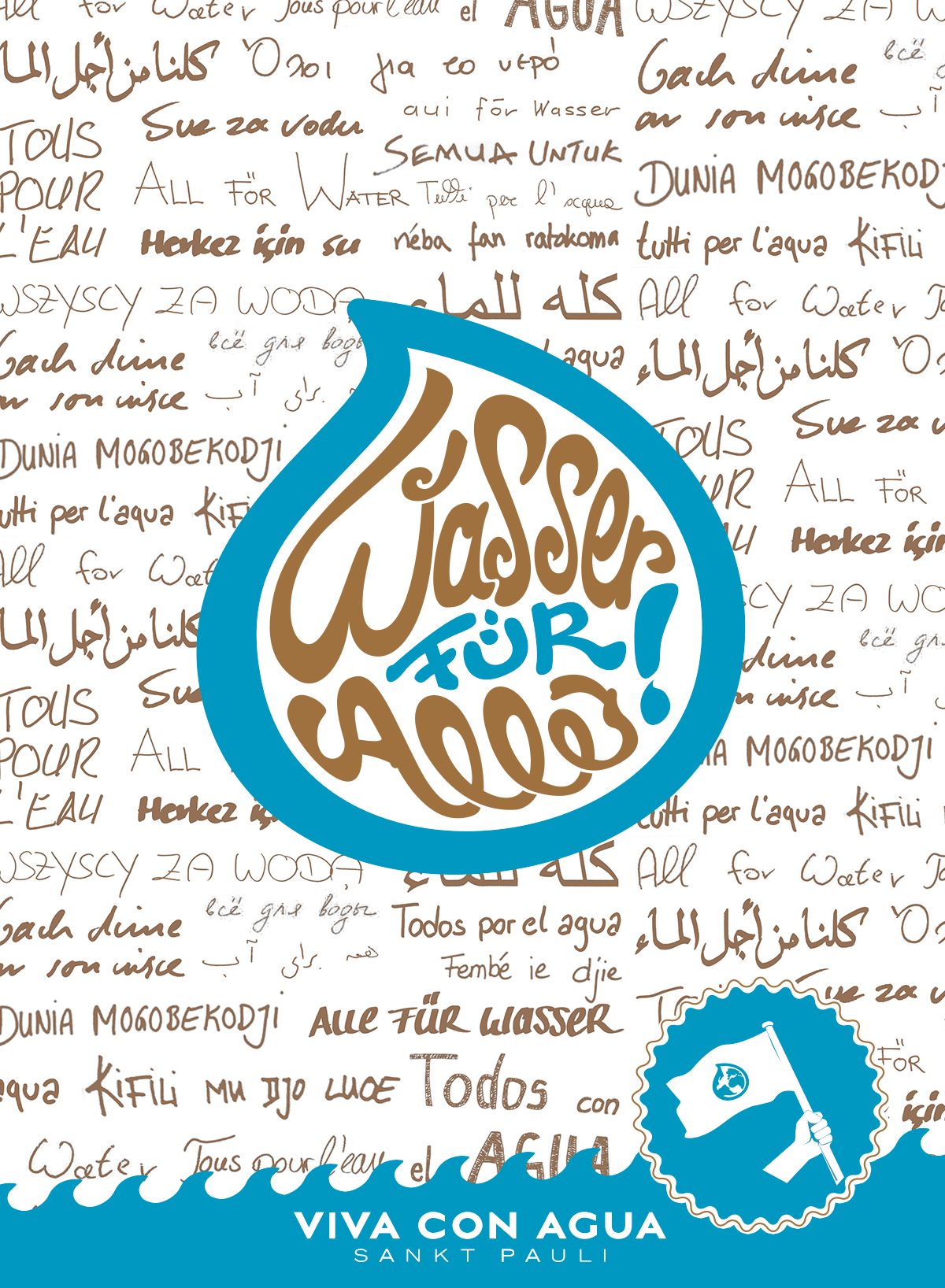 Viva con Agua - Label Designkonzept on Behance.