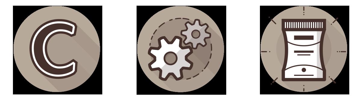 Website Web Design  icons line icons flat design