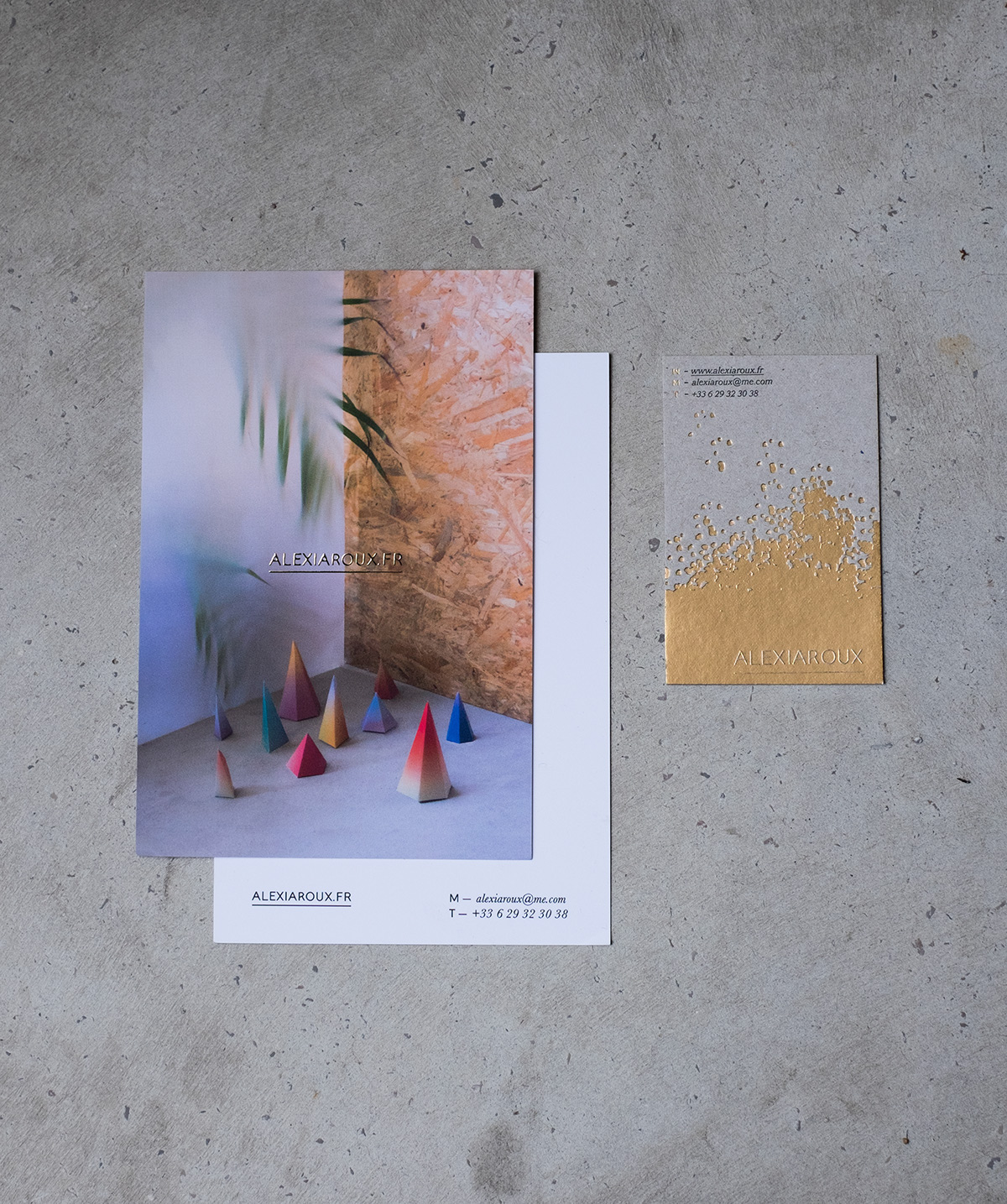 Conception Et Impression De Mes Propres Supports Communication Carte Visite Correspondance Cartes Visites En Letterpress Par Atelier