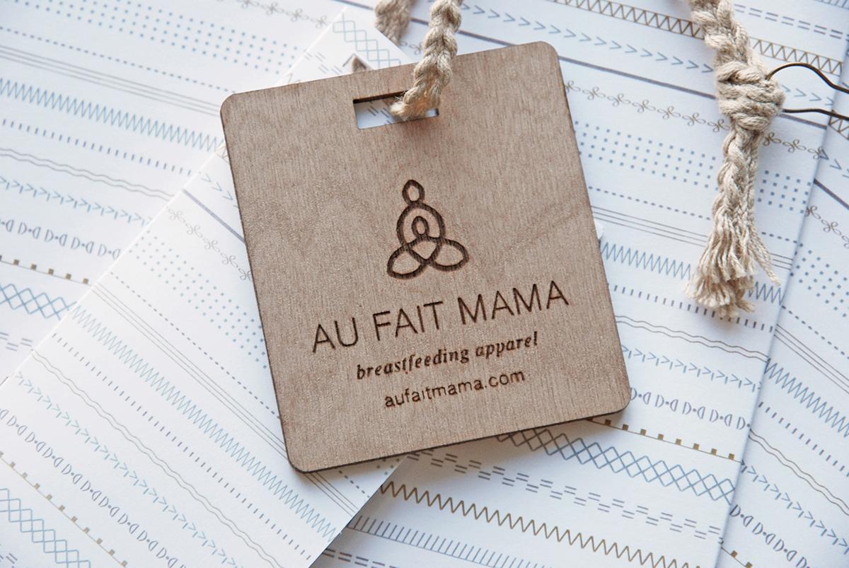 978455b25211 Au Fait Mama Branding