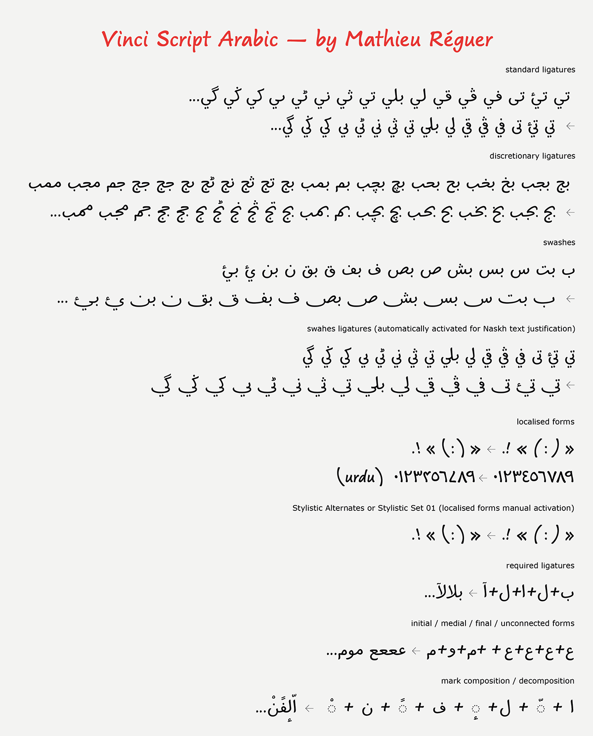 Vinci Script on Behance