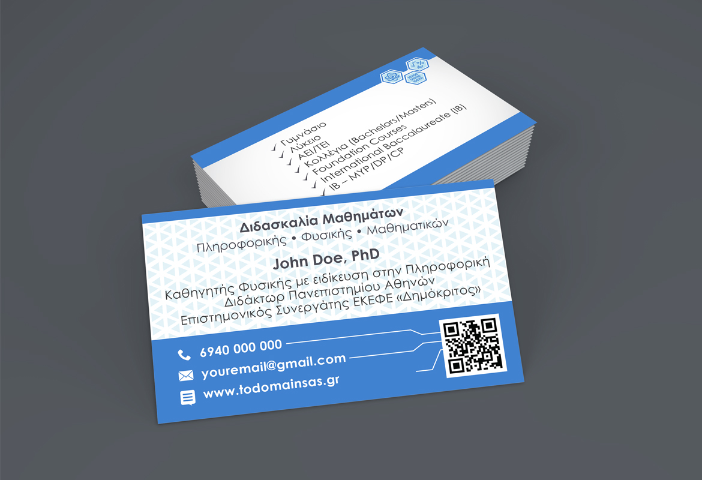 Professor business cards on behance colourmoves