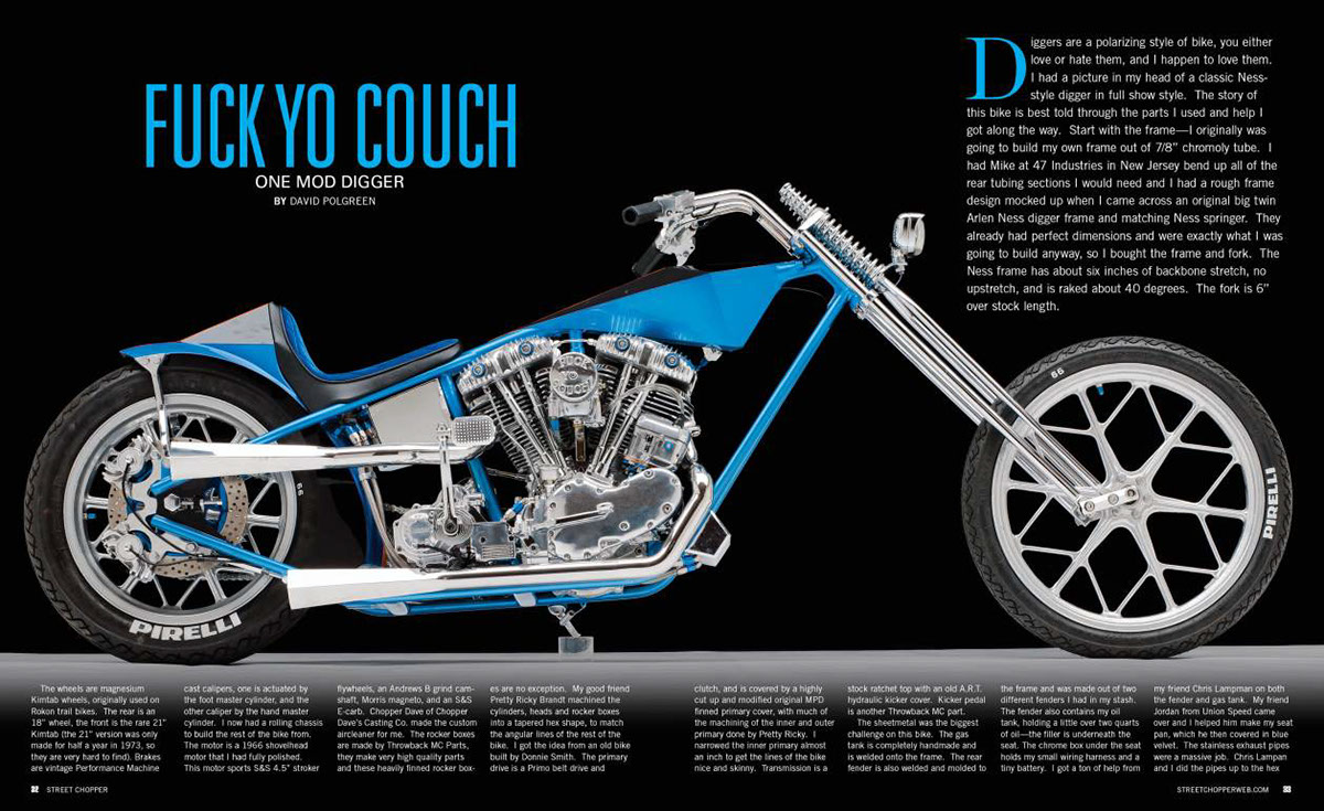 Street Chopper Magazine on Behance