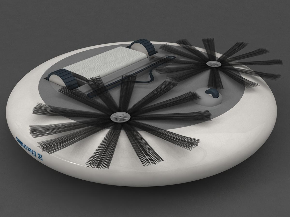 roventa alexandru ruver design industral electrolux vacuum cleaner Autonomous