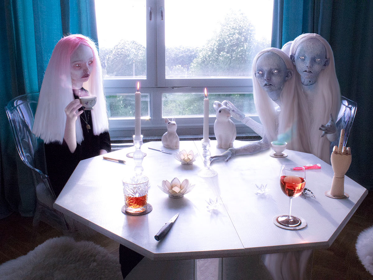 bubbles anthony lister D*Face sr arribas emilie steele rultron isaac mahow symbiosis artists with character dr case