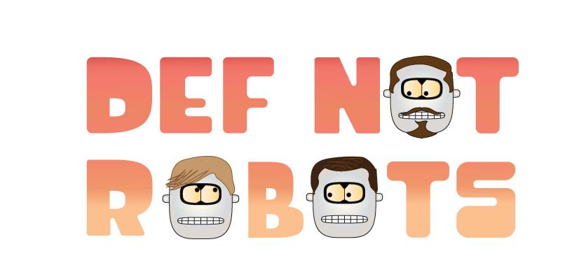 Adobe Portfolio band artwork robots lettering typography   Typeface music