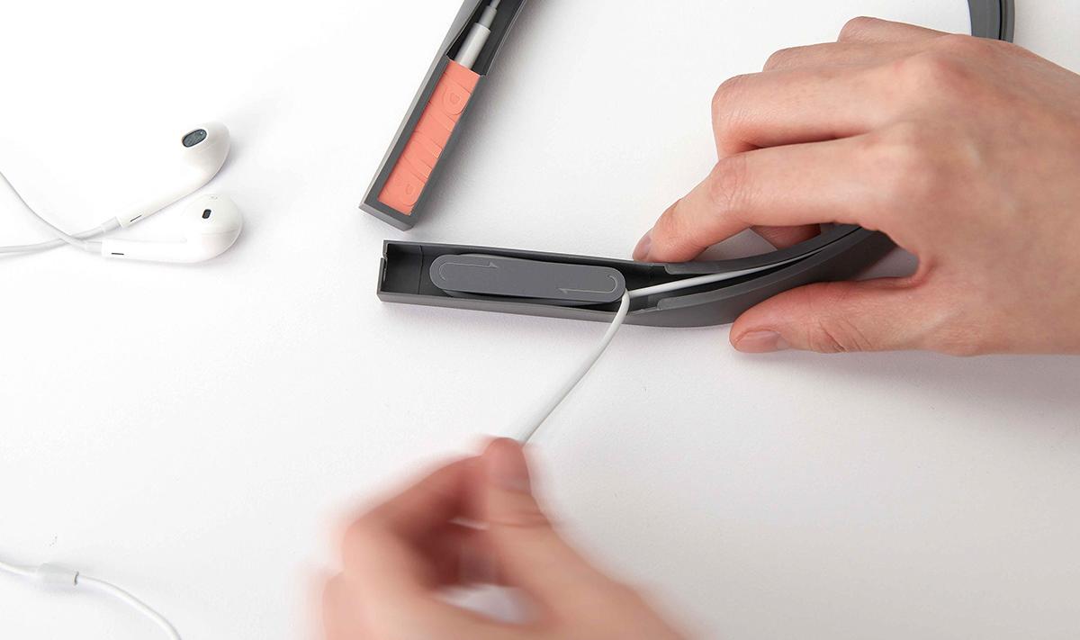 device Bluetooth Receiver minimal design Accessory geometric product PLUB design