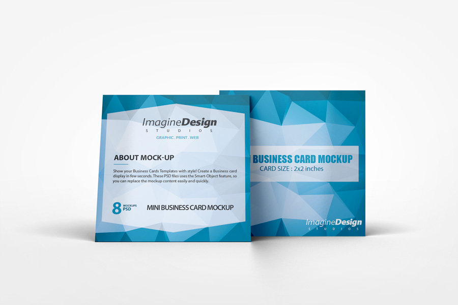 Mini Business Cards Template