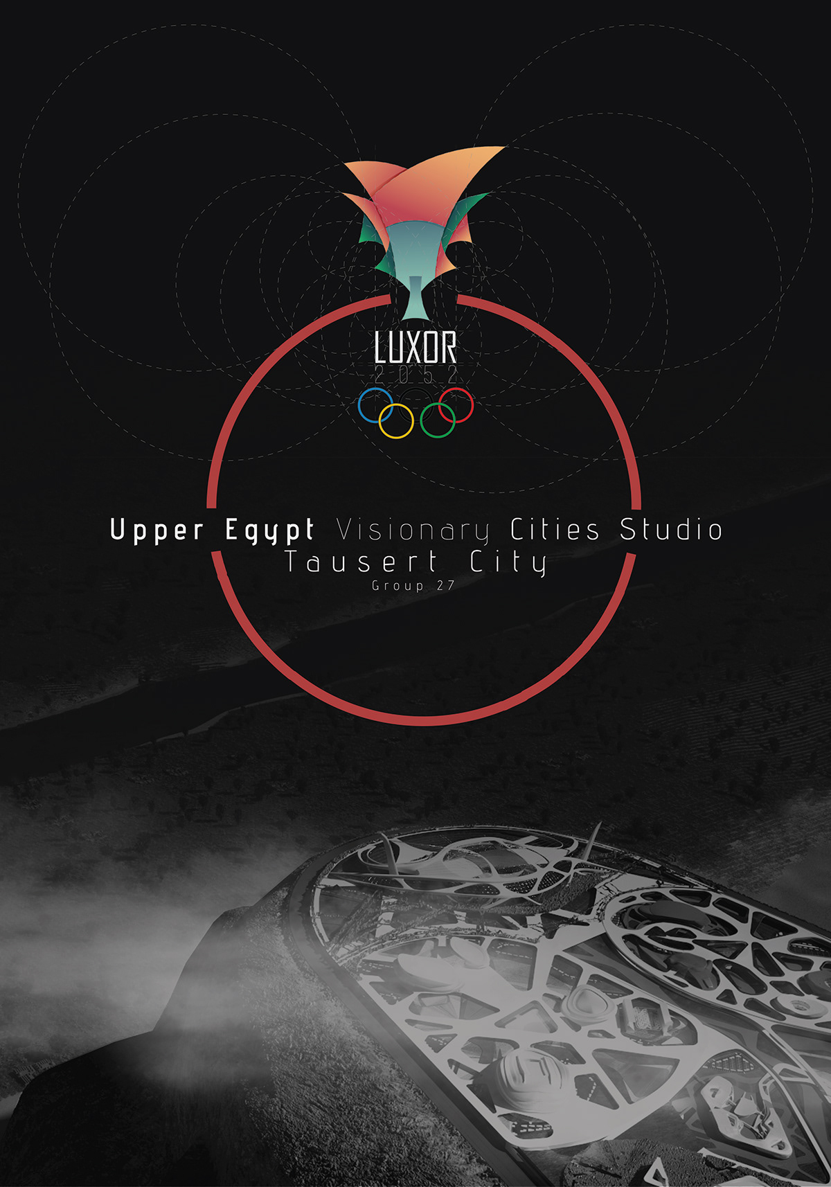 TAUSERT Olympic city, Luxor 2052 - Graduation Project