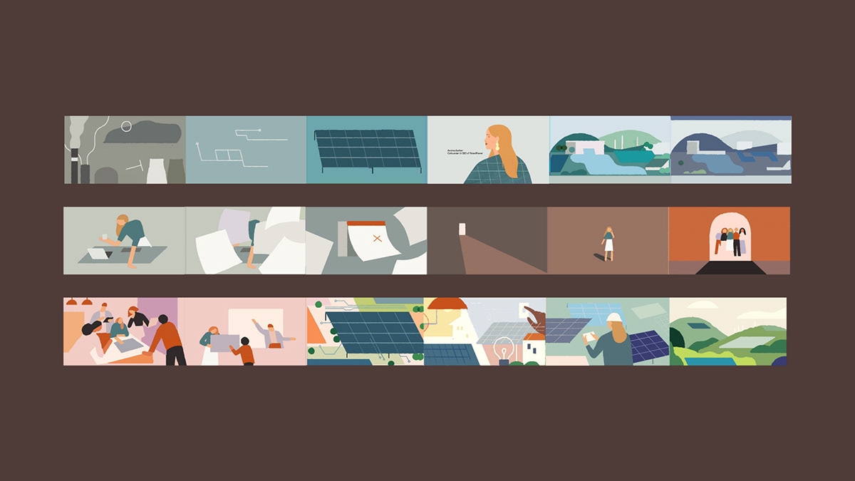 animation  docu-series Founders google ILLUSTRATION  startups