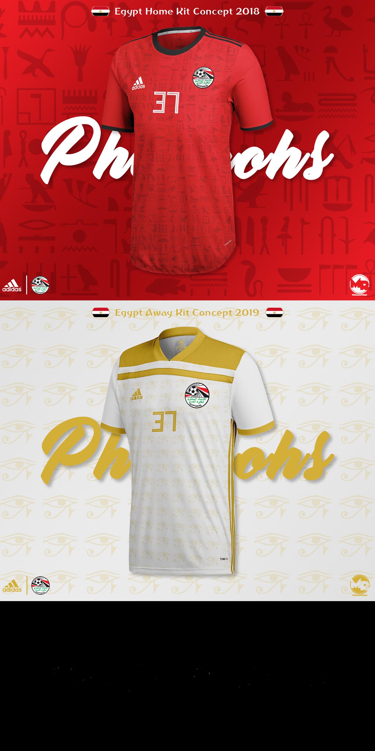 atractivo y duradero muchas opciones de precios baratass Egypt x Adidas | 2019 Kits' Concepts on Behance