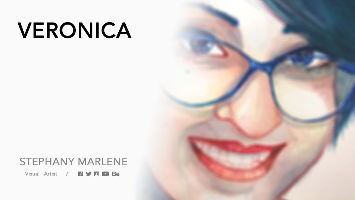 stephanymarlen3 ILLUSTRATION  face women portrait mexico watercolor art color eye