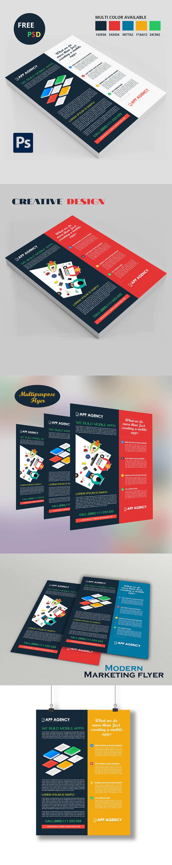 free psd FREE flyer modern flyer creative flyer free psd flyer marketing flyer free free download