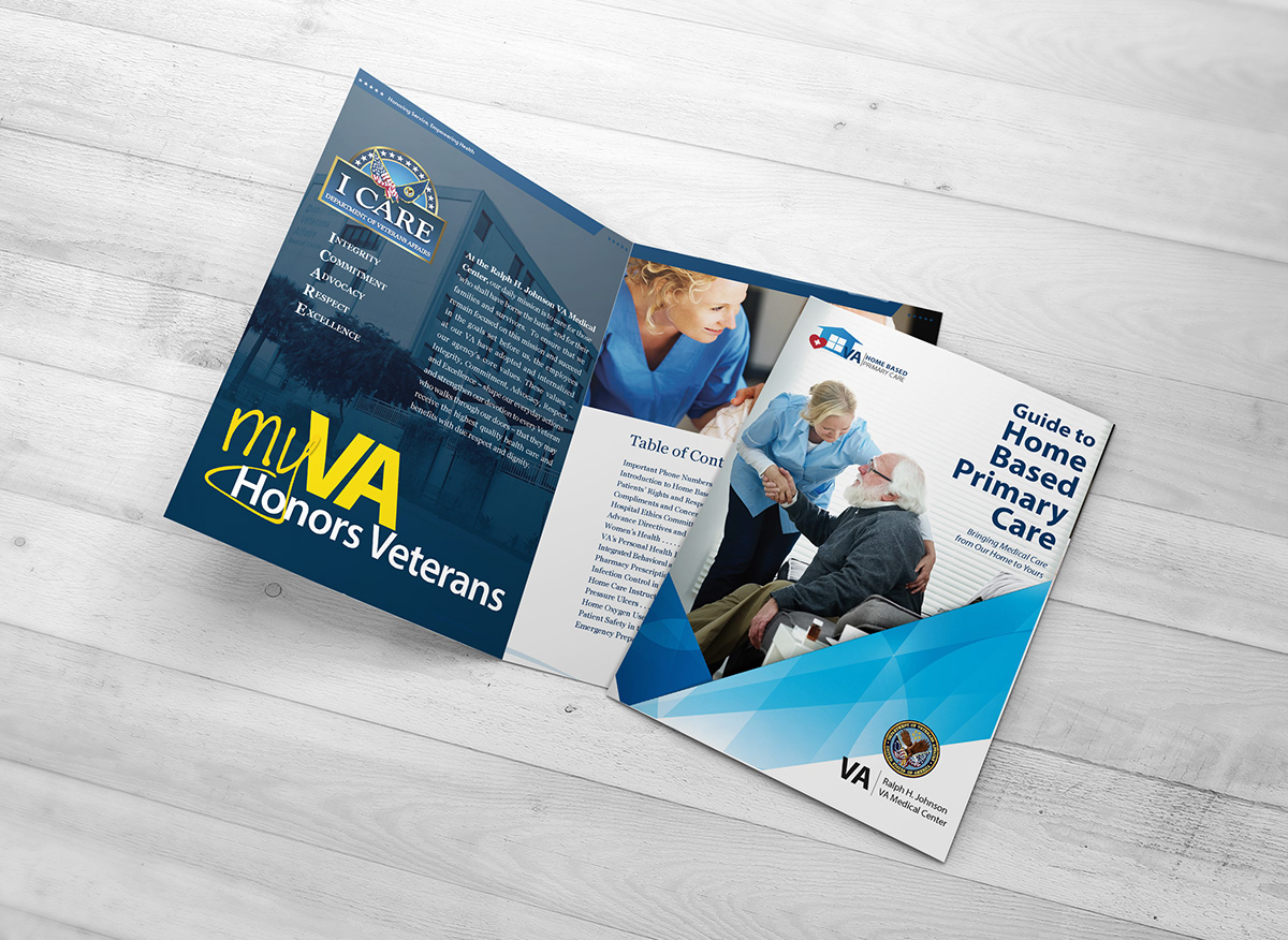 VA Health Care Program Marketing Material on Behance