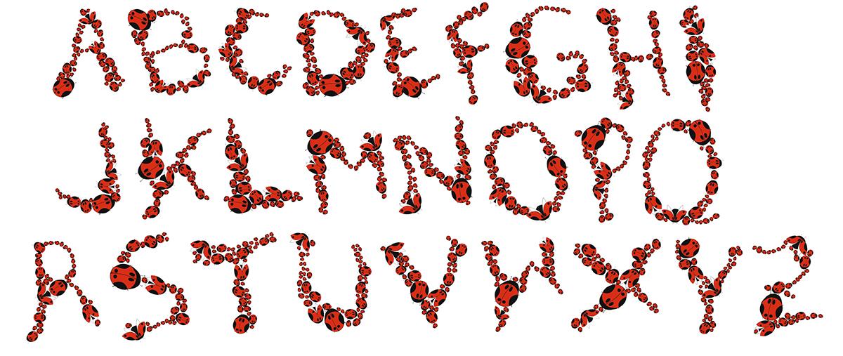 typo tipo mariquita ladybug laudybug