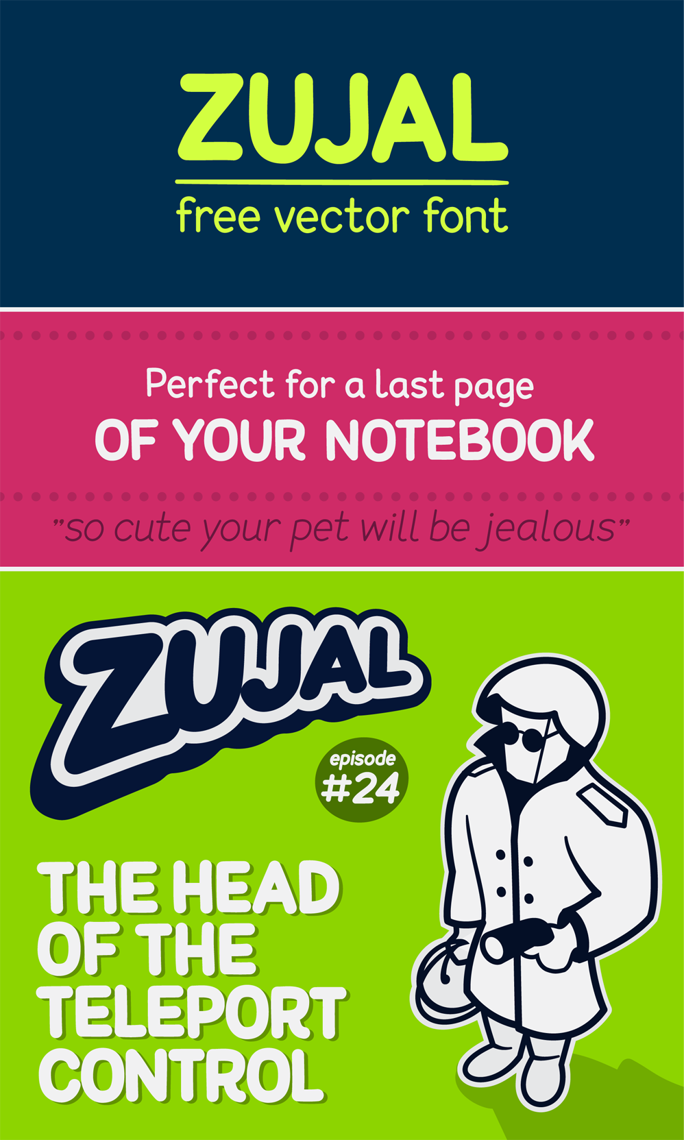 Zujal Font Download