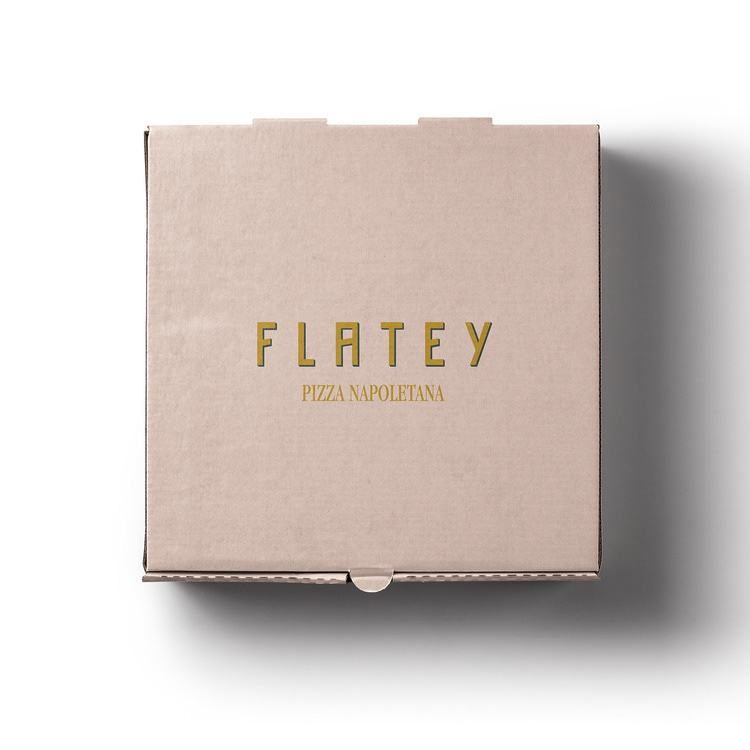 Brand Identity for Flatey – Pizza Napoletana