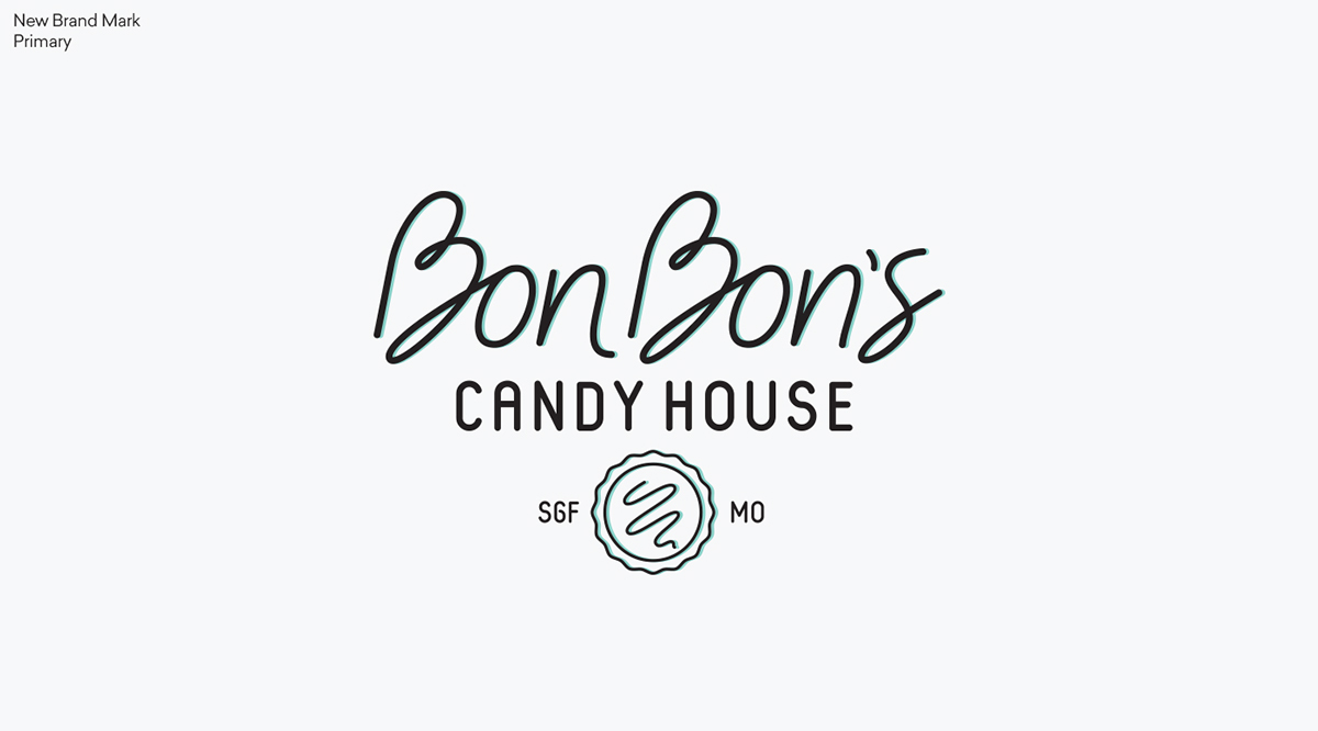 bon bon s candy house rebranding on behance comes interior redesign and new activities such as build your own chocolate bar candy house remains in the to retain brand equity