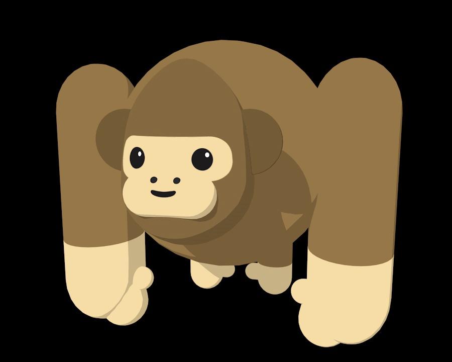 Cinema 4D Monkey on Behance