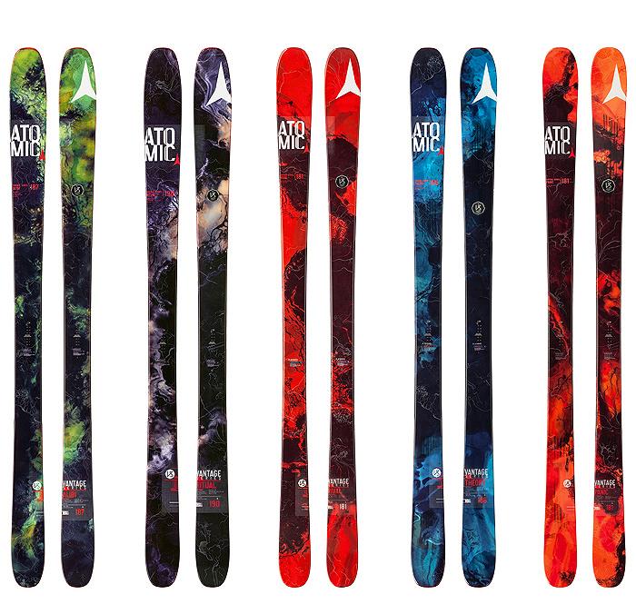 Atomicskis vantage14 skis winter sports Alibi panic ritual rival theory amoeba geology biology graphics