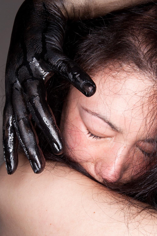 mental illness diogo duarte model hair lips beauty portrait essay depression conceptual studio