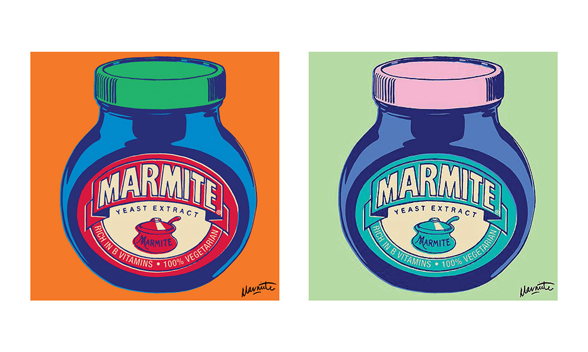 Marmite - Celebrating Andy Warhol on Behance