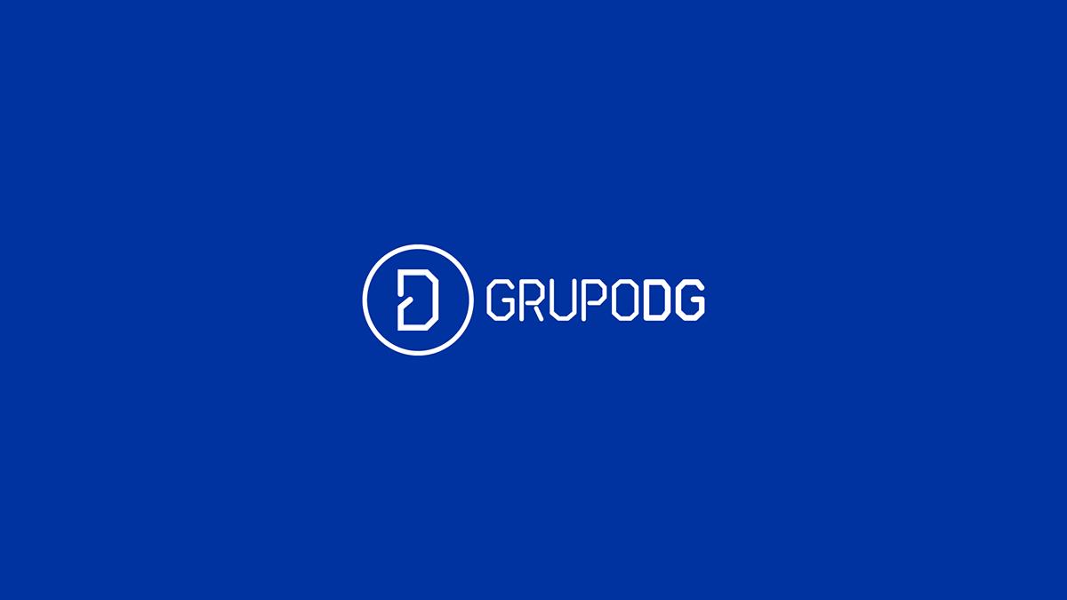 re-branding branding  brand energy electricity DG logo Logotype identity