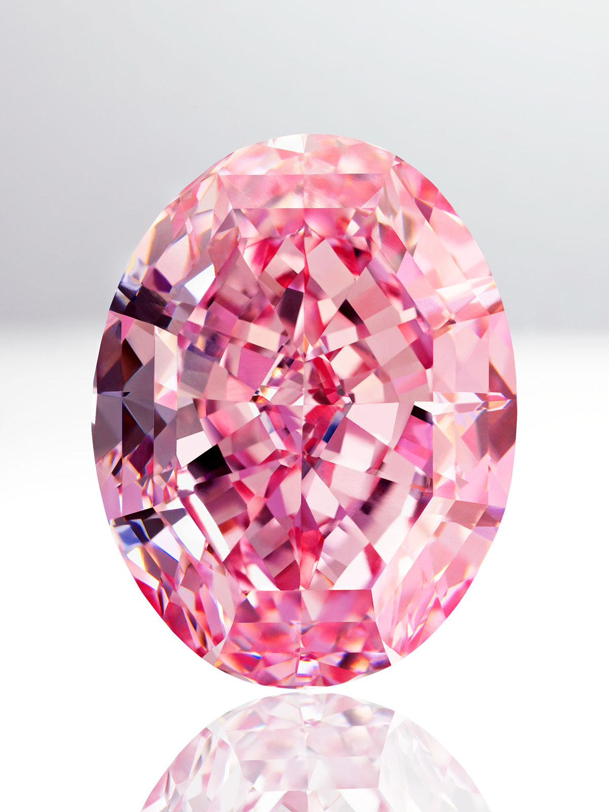 The Quot Pink Star Quot Diamond On Behance