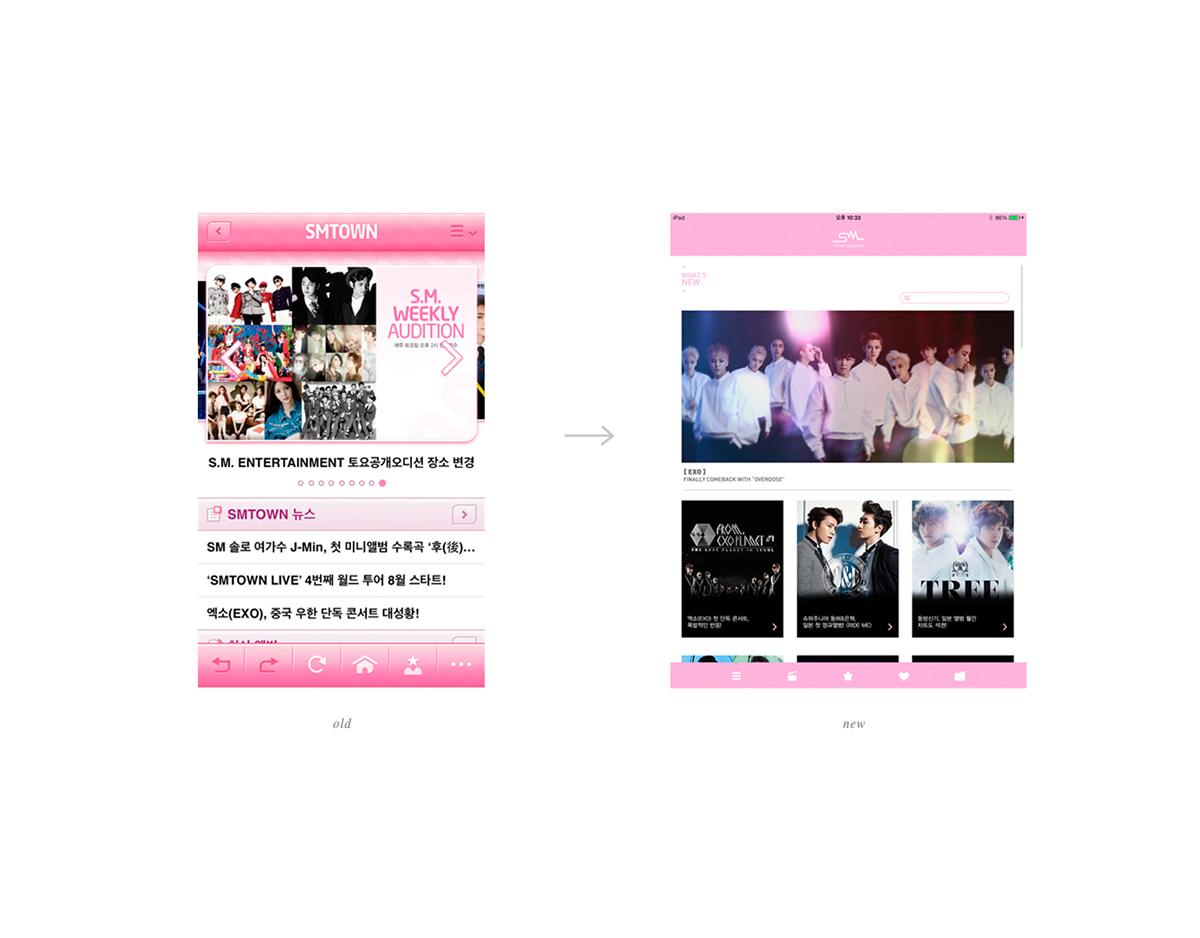 SM Entertainment Rebranding on Behance