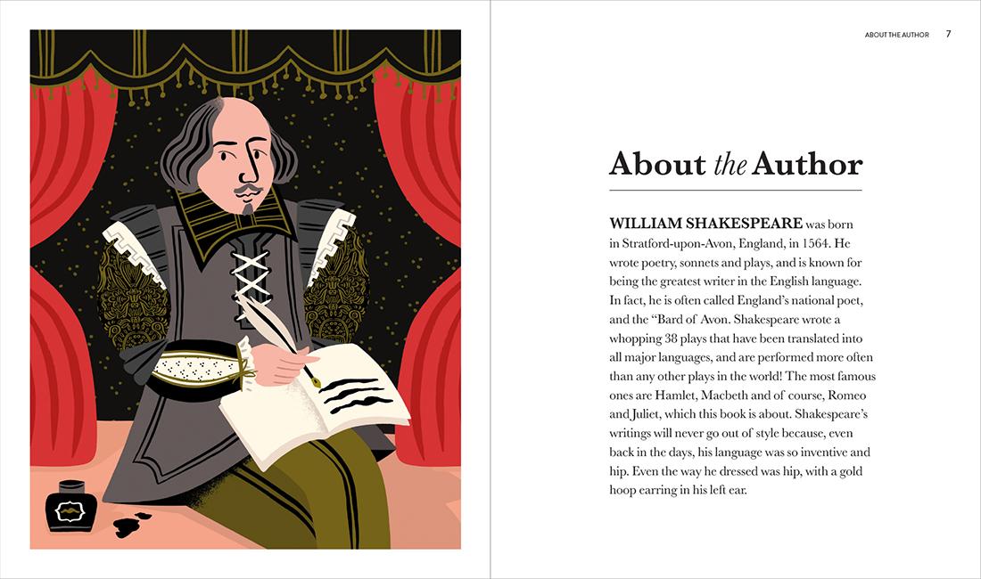 shakespeare Romeo and Juliet classics Moppet Books Children's Books Marijke Buurlage